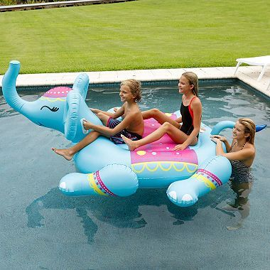 Giant Animal 2 Person Pool Float Sam S Club Summer Pool Floats Pool Pool Floaties