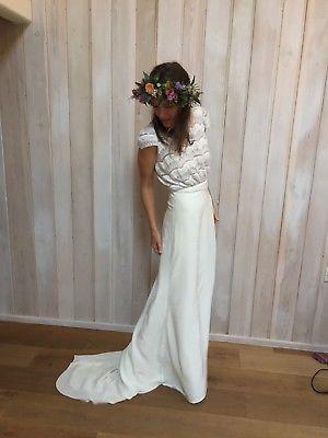 Laure De Sagazan Verlaine Used Wedding Dress Save 52 Wedding Dresses Alternative Wedding Dresses Used Wedding Dresses