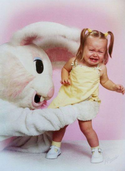 Photo Roundup: The Internet's Most Disturbing Easter Bunnies - http://www.nickmom.com #easterphotos