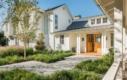 44 Ideas Farmhouse Landscaping Ideas Lawn Farmhouse Landscaping Modern Farmhouse Contemporary Exterior Doors