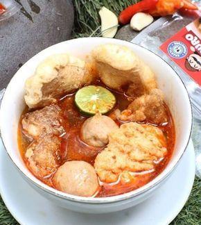 Resep Cilok Kuah Isi Bakso Dan Telur Enak Iniresep Com Resep Resep Masakan Pedas Resep Makanan Pedas