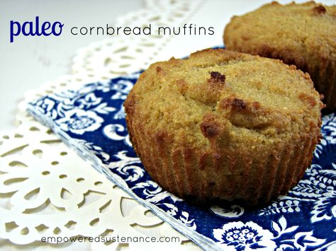 corn-free cornbread muffins (using coconut flour)