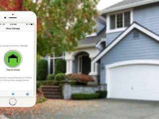 A Smart Garage Door Controller Is An Add On That Works With Your Existing Garage Door Opener Letti Smart Garage Door Opener Automatic Garage Door Garage Doors