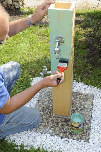 Pin Von Yunus Auf Garden Neu In 2020 Wasserhahn Garten