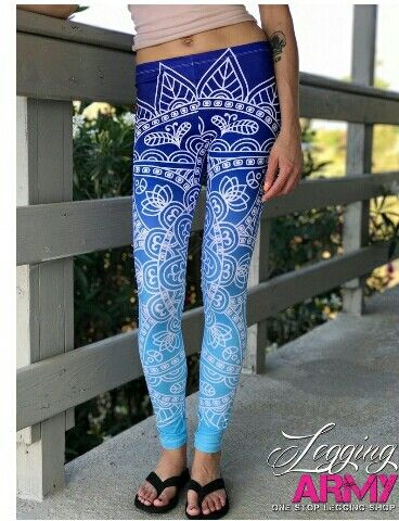 8975e91ff6e2d All New to the Sublimation Series-Zen Chic Leggings with a beautiful design  and ombré background . $16 with tax included and free shipping in the US!