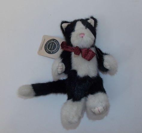 Boyd's Bears & Friends Milton R. Penworthy Black Cat Plush Stuffed Animal  New #AllOccasion