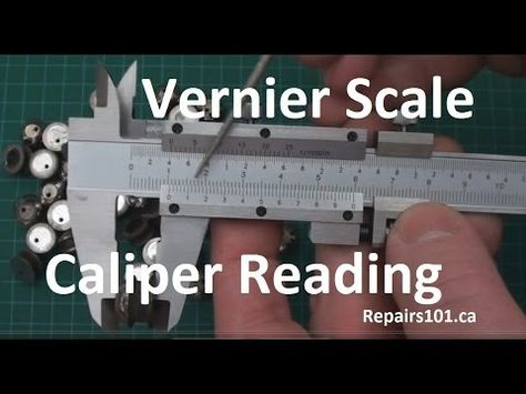 How To Read Vernier Or Nonius Scale Calipers In Metric Imperial Decimals And Imperial Fractions Vernier Decimals Fractions