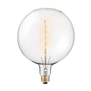 Globe Electric 100 Watt G200 Oversized Vintage Incandescent Light Bulb 80128 The Home Depot In 2020 Gluhbirne Led Gluhbirnen Lampe