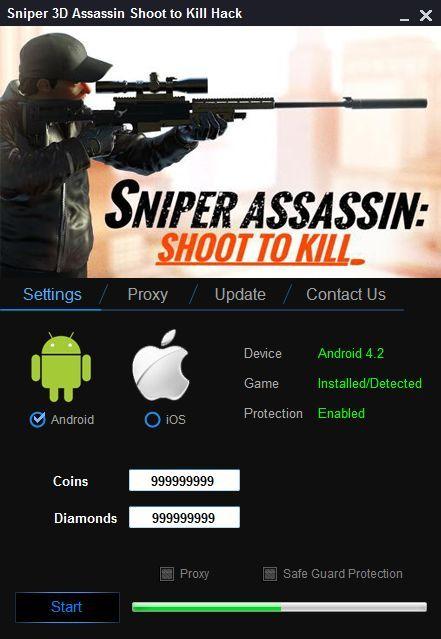 Sniper 3D Assassin Shoot to Kill Hack (Android/iOS)   sniper