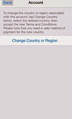 شرح تحويل حساب الاب ستور الى امريكي بسهولة Conditioner App