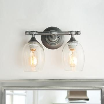 Lnc Home Transitional Antique Silver Vanity Lights A03353 1