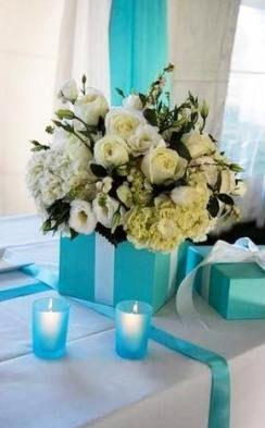 59 Ideas Breakfast At Tiffanys Centerpieces Boxes For 2019 Breakfast In 2020 Tiffany Blue Weddings Tiffany Wedding Aqua Wedding