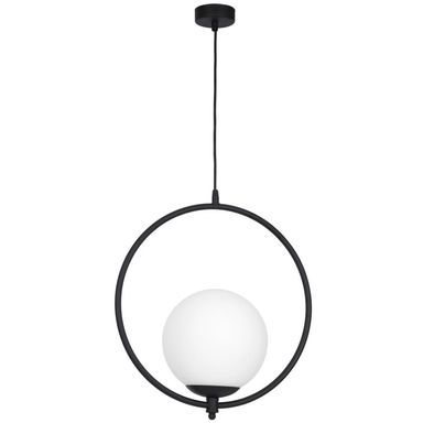 Lampa Wiszaca Luna Czarna E27 Aldex Zyrandole Lampy Wiszace I Sufitowe W Atrakcyjnej Cenie W Sklepach Leroy Merlin White Lamp Shade Simple Lamp Lamp