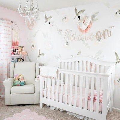Malea Wall Decal Set In 2020 Baby Room Wall Nursery Wall Stickers Nursery Room Design
