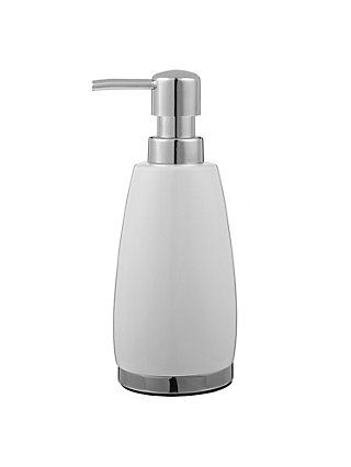 John Lewis Partners London Ceramic Soap Dispenser White Ceramic Soap Dispenser Soap Dispenser Soap