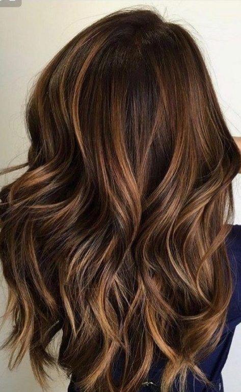 35 Hottest Fall Hair Colour Ideas For All Hair Types 2019 Fall Hair Colour Autumn Flower Type Hair C In 2020 Brown Hair Colors Brown Hair With Highlights Hair Styles