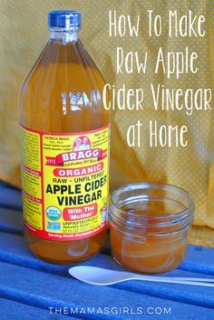 How To Make Raw Diy Le Cider Vinegar At Home