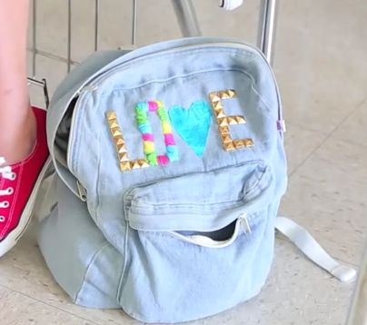 Bethany Mota Diy Backpack S You Watch