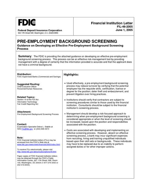Sample Employment Background Check The top 2 Background Check - homicide report template