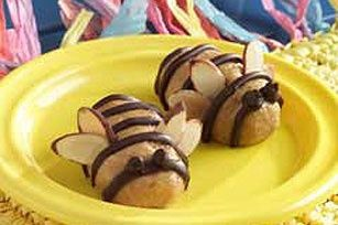 Peanut Butter Bumble Bees recipe judylindsay