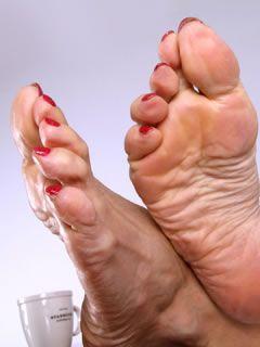 Foot fetish mature