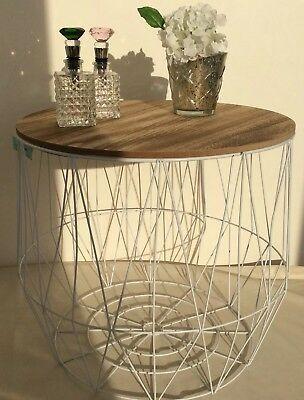 Beistelltisch Korb Metall Luxury Stock Sale Metall Korb Tisch 50cm