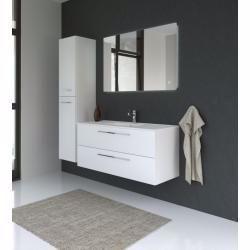 Badezimmermobel Set Cm Rajkot 3 Teilig Inkl Waschtisch Waschbecken Farbe Weiss Glanzend Easy In 2020 Bathroom Decor Apartment Diy Bathroom Decor Room Furnishing