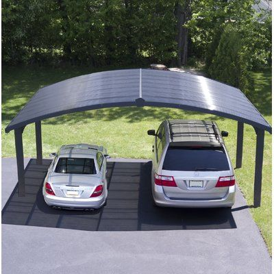 Arizona Wave 5000 16 Ft X 10 Ft Carport Double Carport Carport Canopy Carport Designs