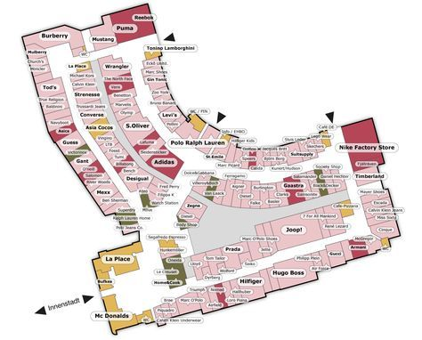 Karte Outlet Center Shoppen In Roermond Met Afbeeldingen