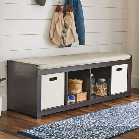 8e610eeaec147ba2f8ea199aac8d4df1 - Better Homes And Gardens 3 Cube Organizer Bench With Cushion