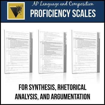 Ap English Language And Composition Essay Proficiency Scales Ap