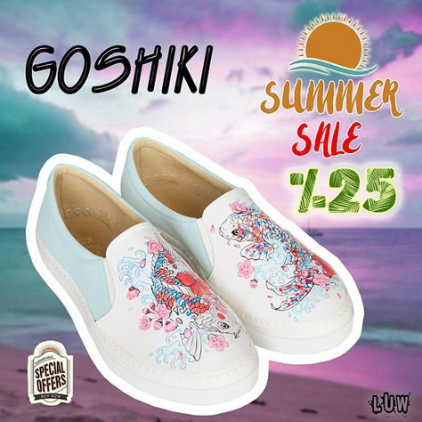 721f5e8276 GOSHIKI - koi fish shoes