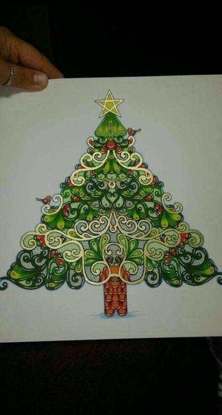 47 Ideas Tree Drawing Pencil Secret Gardens Christmas Coloring Books Johanna Basford Christmas Johanna Basford Coloring Book
