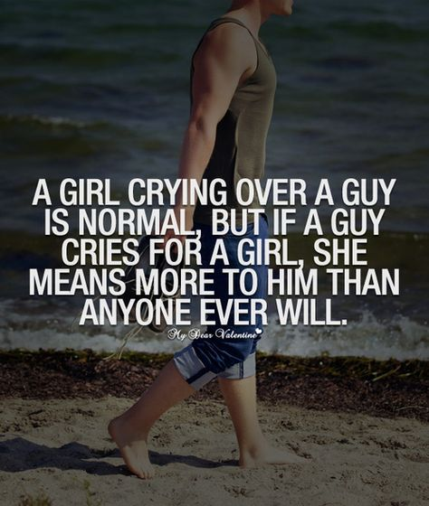 This is fucking stupid and plain wrong and perpetuates the societal role of males where we are not supposed to show emotion which is bullshit