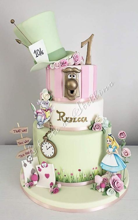 Peachy 25 Best Ideas For Party Ideas Disney Alice In Wonderland With Personalised Birthday Cards Cominlily Jamesorg