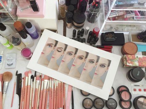 Sue Bryce Portrait Makeup Progression