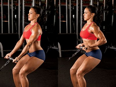 Oddo's Angle: Low-cable Row - Get fit with cables. Use this move ...