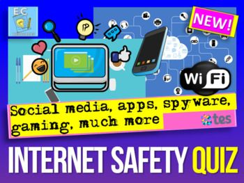 This Is An Easy To Use Quiz Great For Students To Learn About Security Privacy Fraud Phishing Scams Onl In 2020 Internet Safety Safe Internet Free Internet Games
