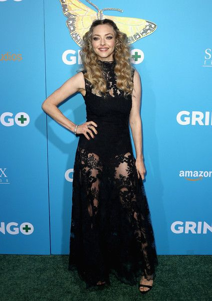 Actor Amanda Seyfried attends the world premiere of 'Gringo' from Amazon Studios and STX Films.