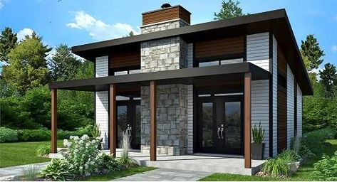 Bonzai | Modern Home in 2019 | Small modern cabin, Small modern ...