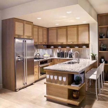cocinas de diseo cuadradas nueva casa pinterest kitchens decorating and house - Cocinas Cuadradas