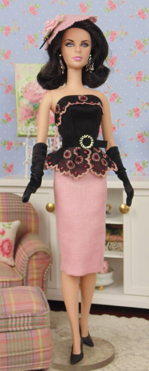 Penelopia for Barbie & Victoire Roux by HankieChic on Etsy