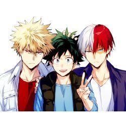 Who Do You Ship With Who My Hero Academia Midoriya Bakugo And Todoroki My Hero My Hero Academia Episodes Hero