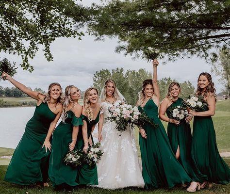 "Sophia Tolli Australia on Instagram: ""Now the party don't start until the BRIDE walks in🙌😍 #sophiatollibride #Y11953 #weddinggoals #shesaidyes #weddingparty #bridalinspiration…"""
