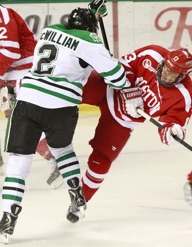 UND Hockey Scoring from Defense Corps Tops in Conference -   - hockey score sheet