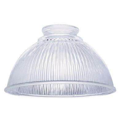 3 3 4 In Clear Prismatic Shade With 2 1 4 In Fitter And 6 1 2 In Width Clear Pendant Light Replacement Glass Shades Glass Shades