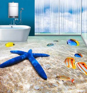 Unlimited Guide To Get A 3d Tile Flooring In Your Bathroom