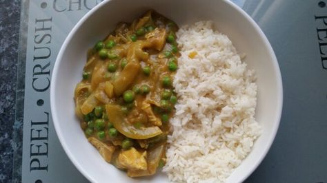 Slimming World Mayflower Chinese Chicken Curry Boil