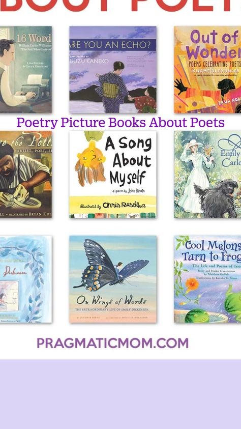 Poetry Picture Books About Poets