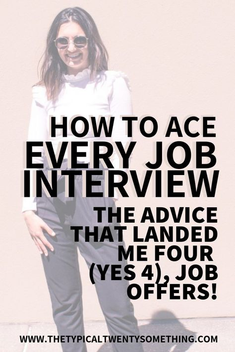 10 Job Interview Success Tips | The Typical Twenty Something